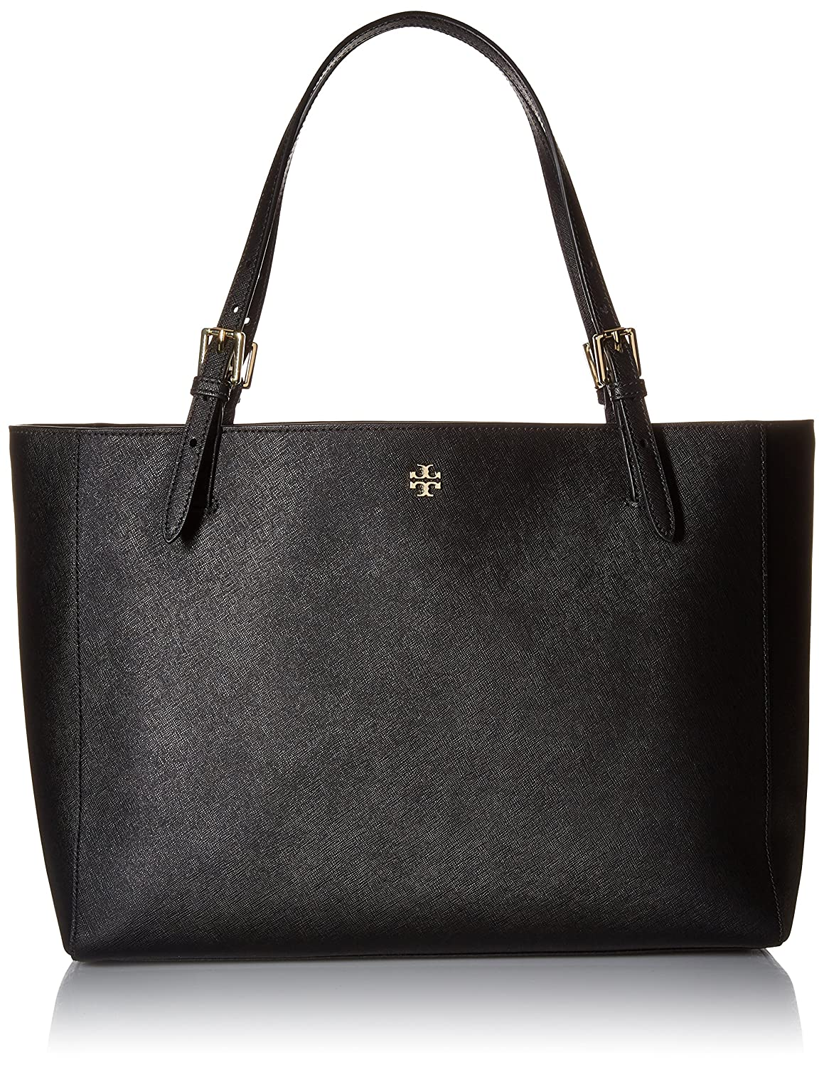 06794a449b7 Tory Burch York Buckle Tote - Black  Handbags  Amazon.com