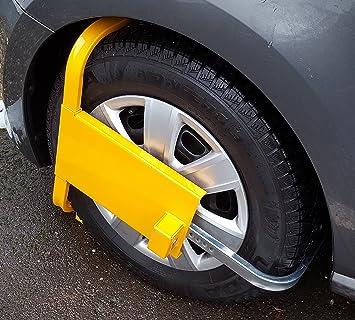 Anhänger oder Wohnmobil LAS Radkralle Diebstahlschutz Parkkralle für Auto