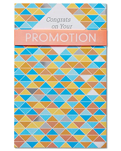 amazon com american greetings promotion congratulations card with