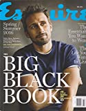 Esquire Magazine Big Black Book Spring/Summer 2016
