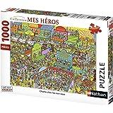 Nathan - 87572 - Puzzle Classique - Charlie Cow-Boys - Où Est Charlie - 1000 Pièces