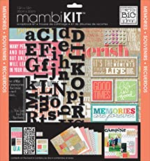Me & My Big Ideas SRK-140 Inspiration Quotes Mambi Scrapbook Kit, 12 by 12-Inch
