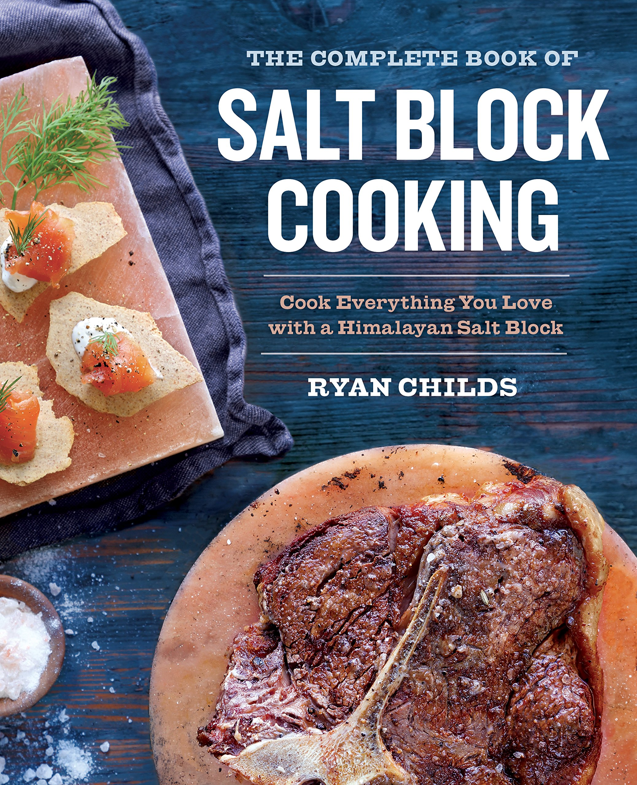 Complete Book Salt Block Cooking product image