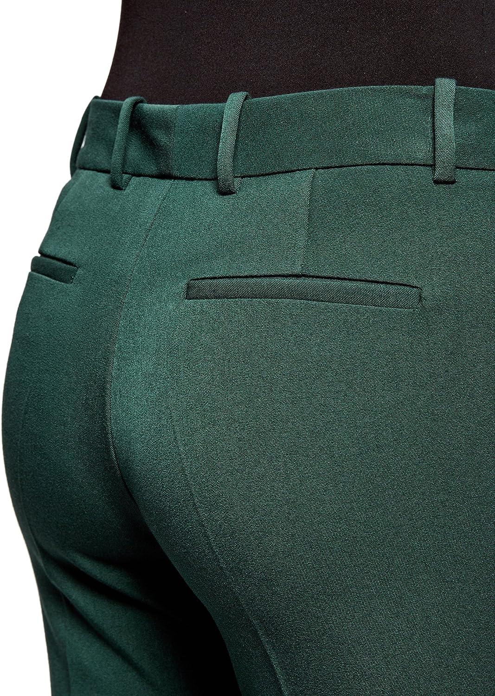 oodji Ultra Donna Pantaloni Classici con Tasche
