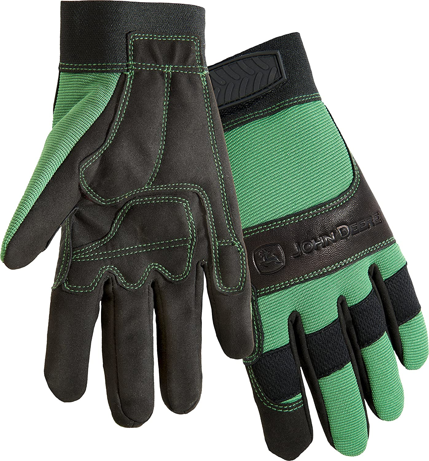 West Chester John Deere JD90010G Waterproof High Dexterity Utility Work Gloves with Thinsulate Lining Large 1 Pair