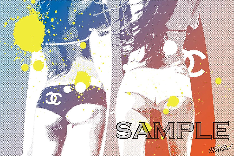 [Mer'Ciel] #003CWH CHANEL ブランド モチーフ アート ポスター (A1, 03) [並行輸入品] B01JV2BF38 A1 03 3 A1