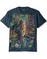 The Mountain Men's Enchanted Wolf Pool T-Shirt