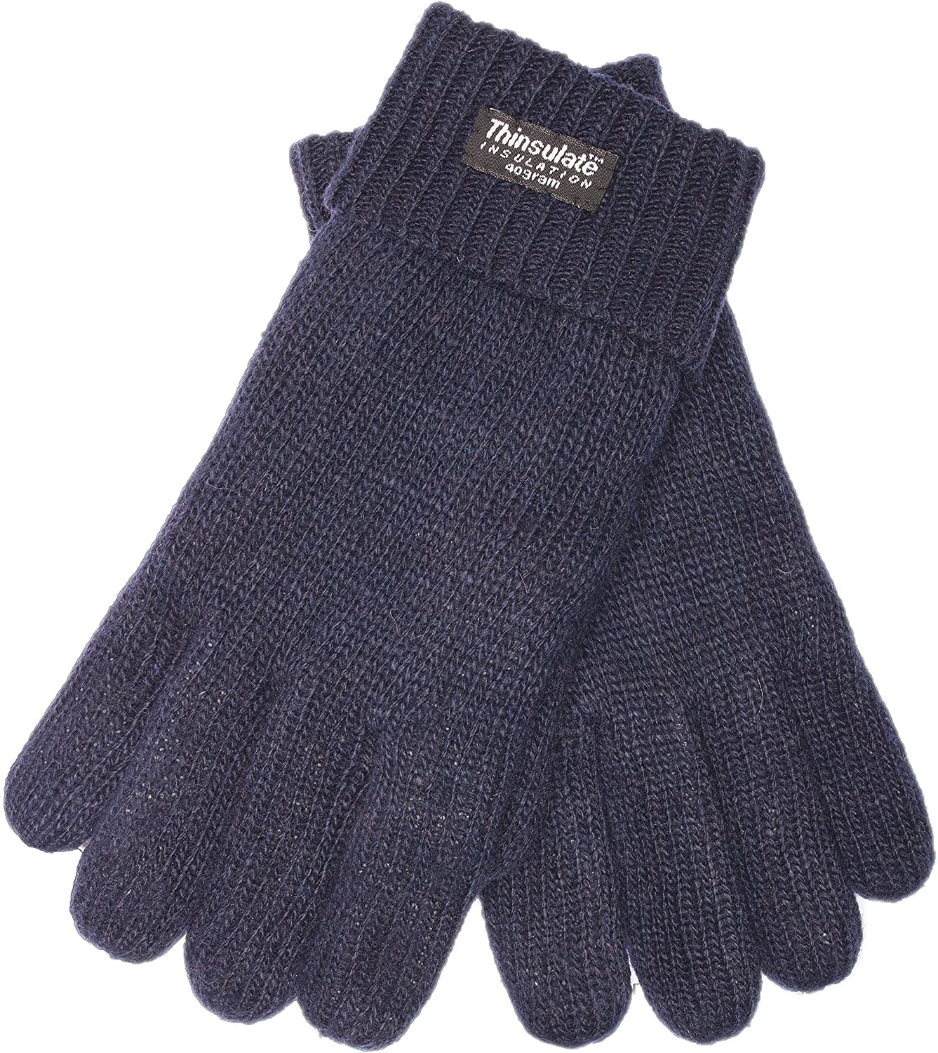 EEM touchscreen gloves for men LASSE-IP with Thinsulate thermal lining 100/% wool anthra XL