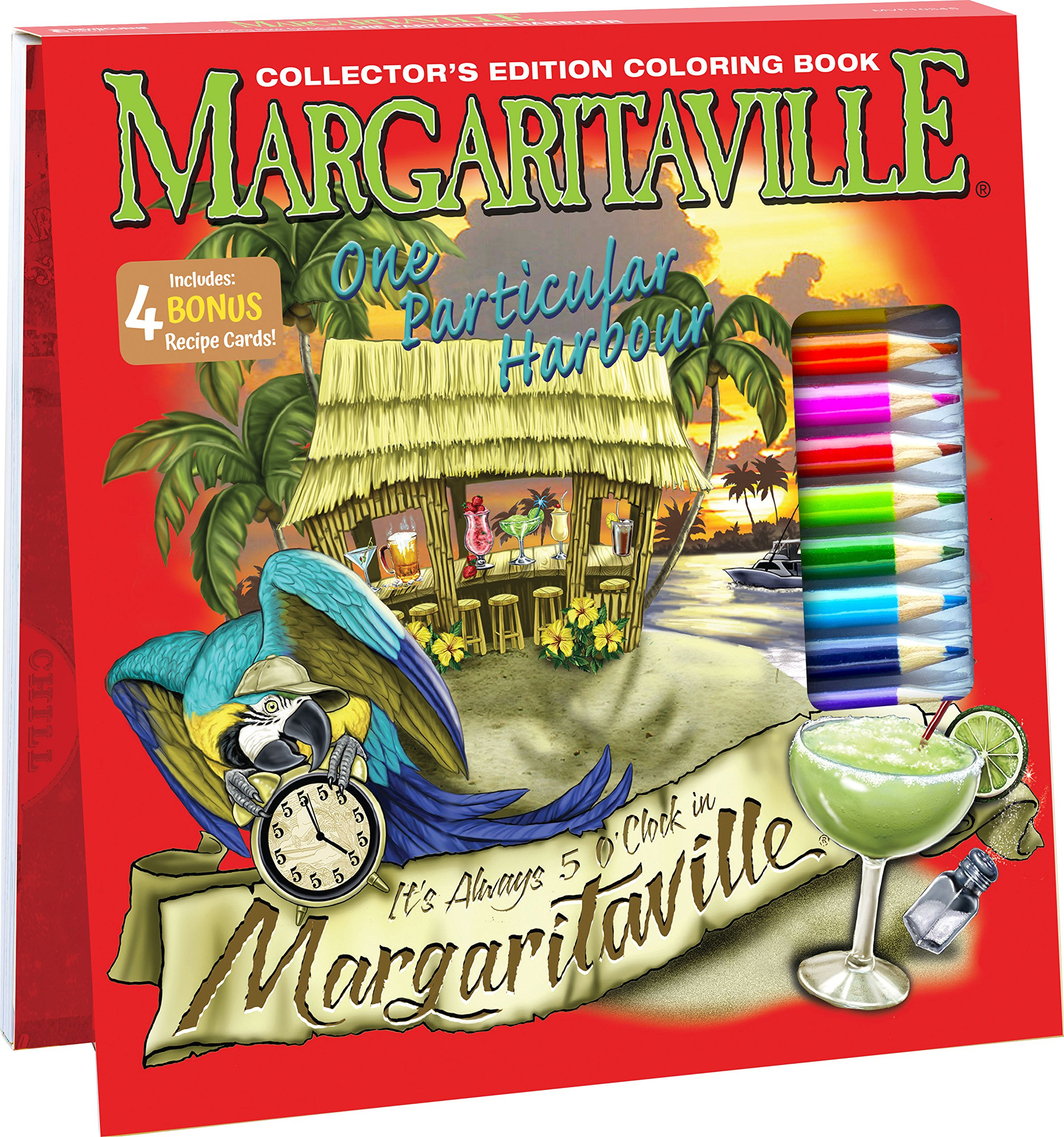 Margaritaville Drink Recipe Book