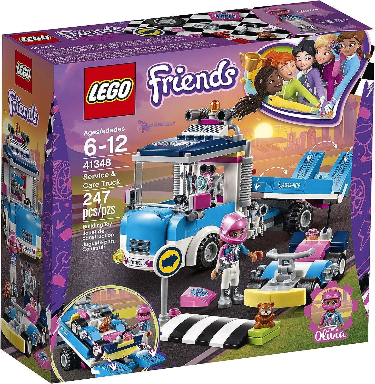 41348 LEGO FRIENDS Service /& Care camion 247 Pieces 6 ans nouvelle version pour 2018!