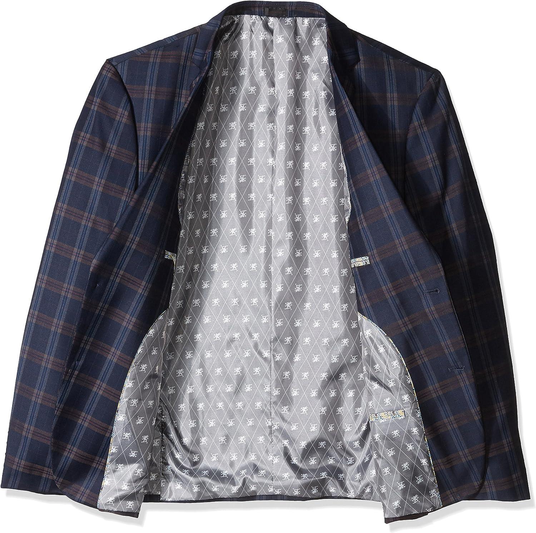 Stacy Adams Mens Brandi Big /& Tall Duo Modern Fit Suit Suit Pants Set