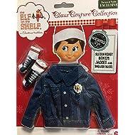 Elf on The Shelf Sleigh Rider Denim Jacket and Sneaker Socks (CCDENJKTS)