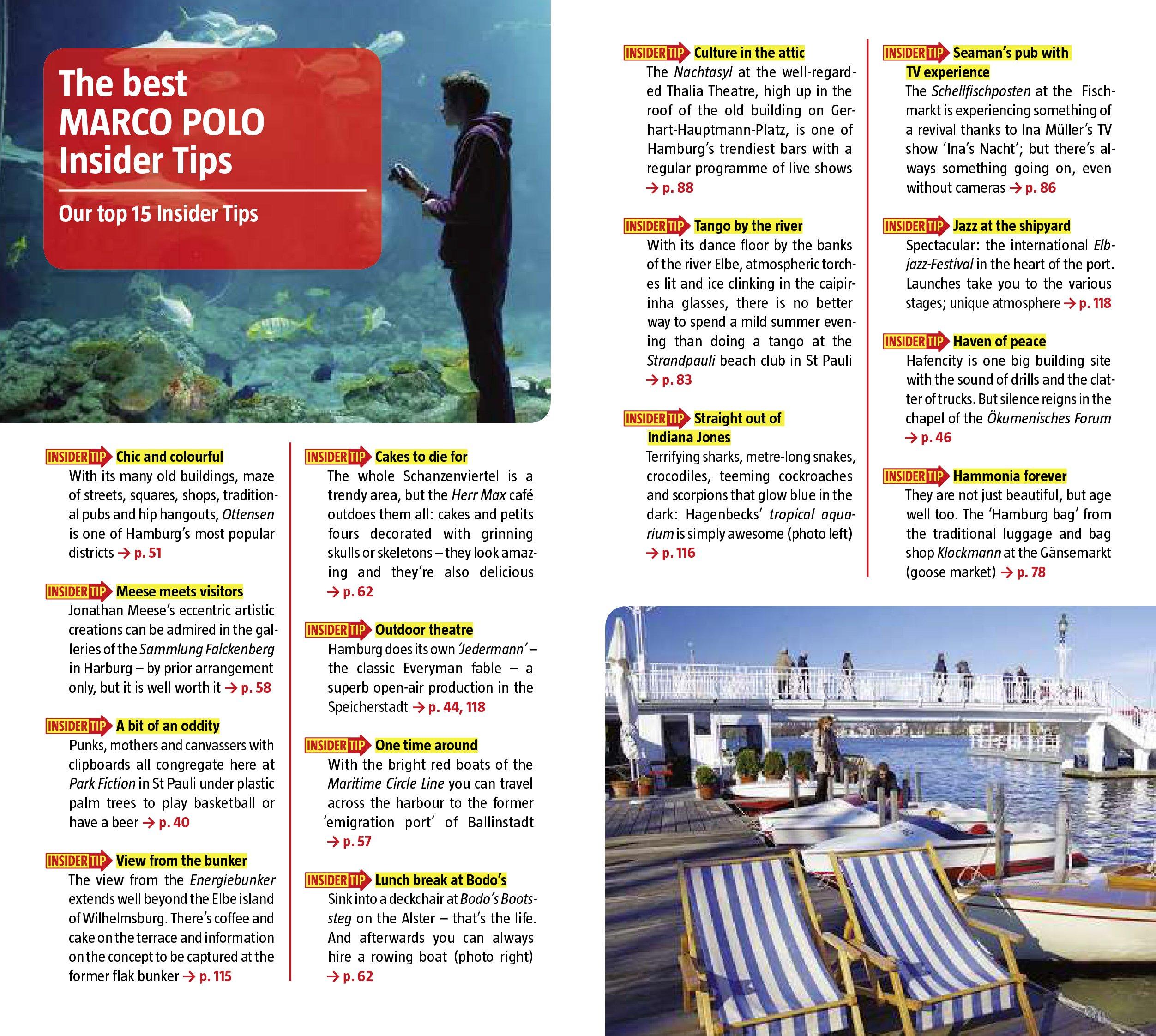 Hamburg Marco Polo Guide Marco Polo Travel Guides Idioma Inglés ...