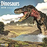 Dinosaurs 2018 16 Month Wall Calendar 12 x 12 inches Bright Day Calendars Publishing
