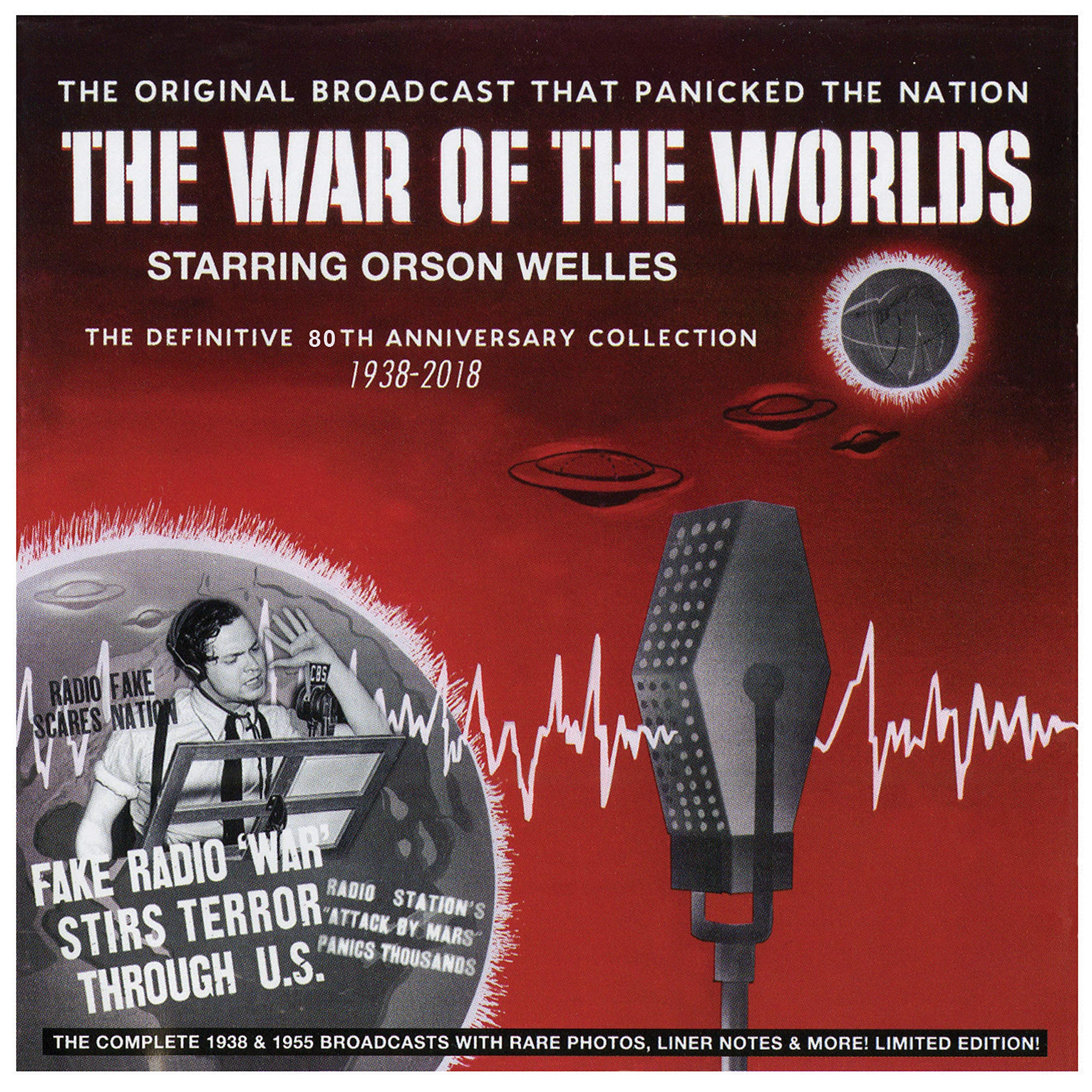 The War Of The Worlds - The Definitive 80th Anniversary Collection 1938-2018 (Deluxe Edition) by Stardust