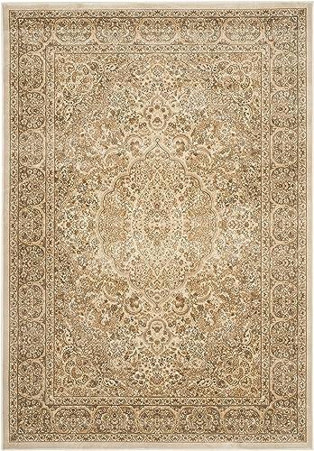 Safavieh Paradise Collection PAR169-3444 Stone and Cream Viscose Area Rug 8 x 11 2