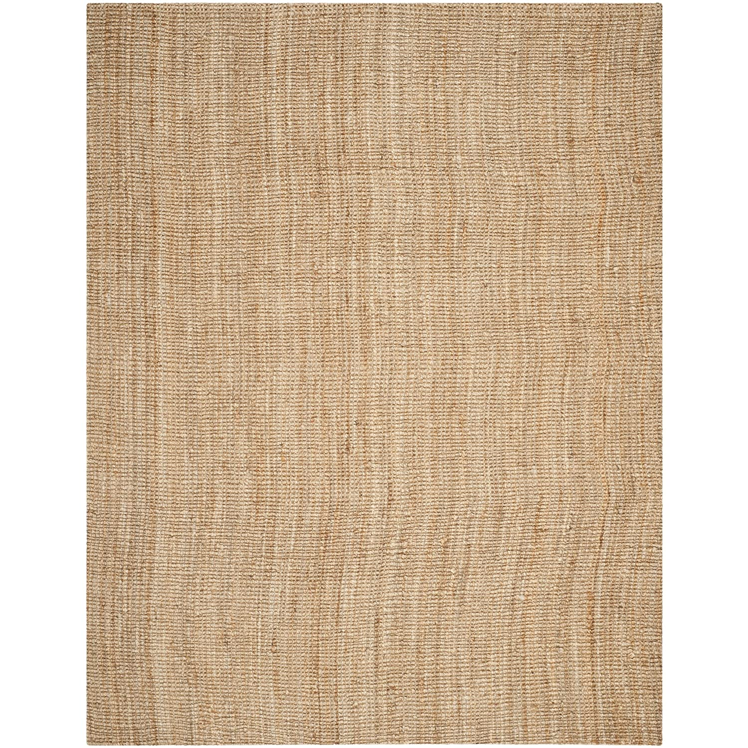 Amazon.com: Safavieh Natural Fiber Collection NF447A Hand Woven Natural Jute  Area Rug (9u0027 X 12u0027): Kitchen U0026 Dining