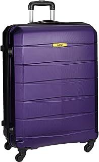 fee1f10449b Safari Regloss Antiscratch 76 Cms Polycarbonate Purple Check-In 4 wheels  Hard Suitcase
