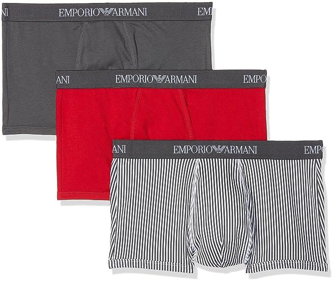 Emporio Armani Underwear Braguita para Hombre (Pack de 3) euuh9O3