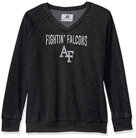 J America NCAA Air Force Falcons Women s Achieve Fleece Crew Sweatshirt 082d217b8