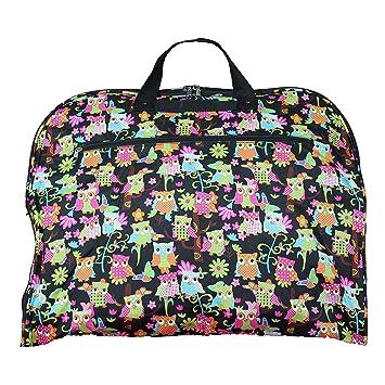 d9948a843254 Amazon.com | World Traveler 40-inch Hanging Garment Bag-Multi Owl ...