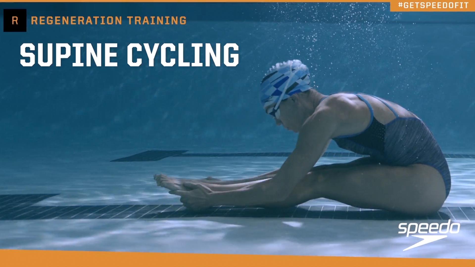 Speedo Aqua Jog Water Aerobic Swim Training Belt Charcoal//Red Small//Medium