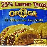 Ortega 12 Yellow Corn Taco Shells 5.8 oz