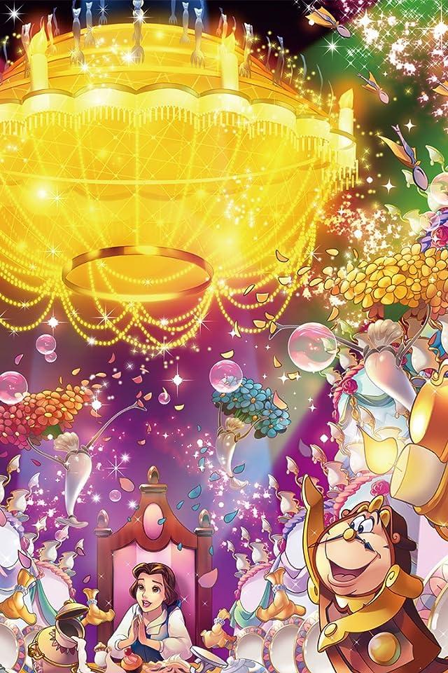 ディズニー ベル,コグスワース iPhone(640×960)壁紙画像