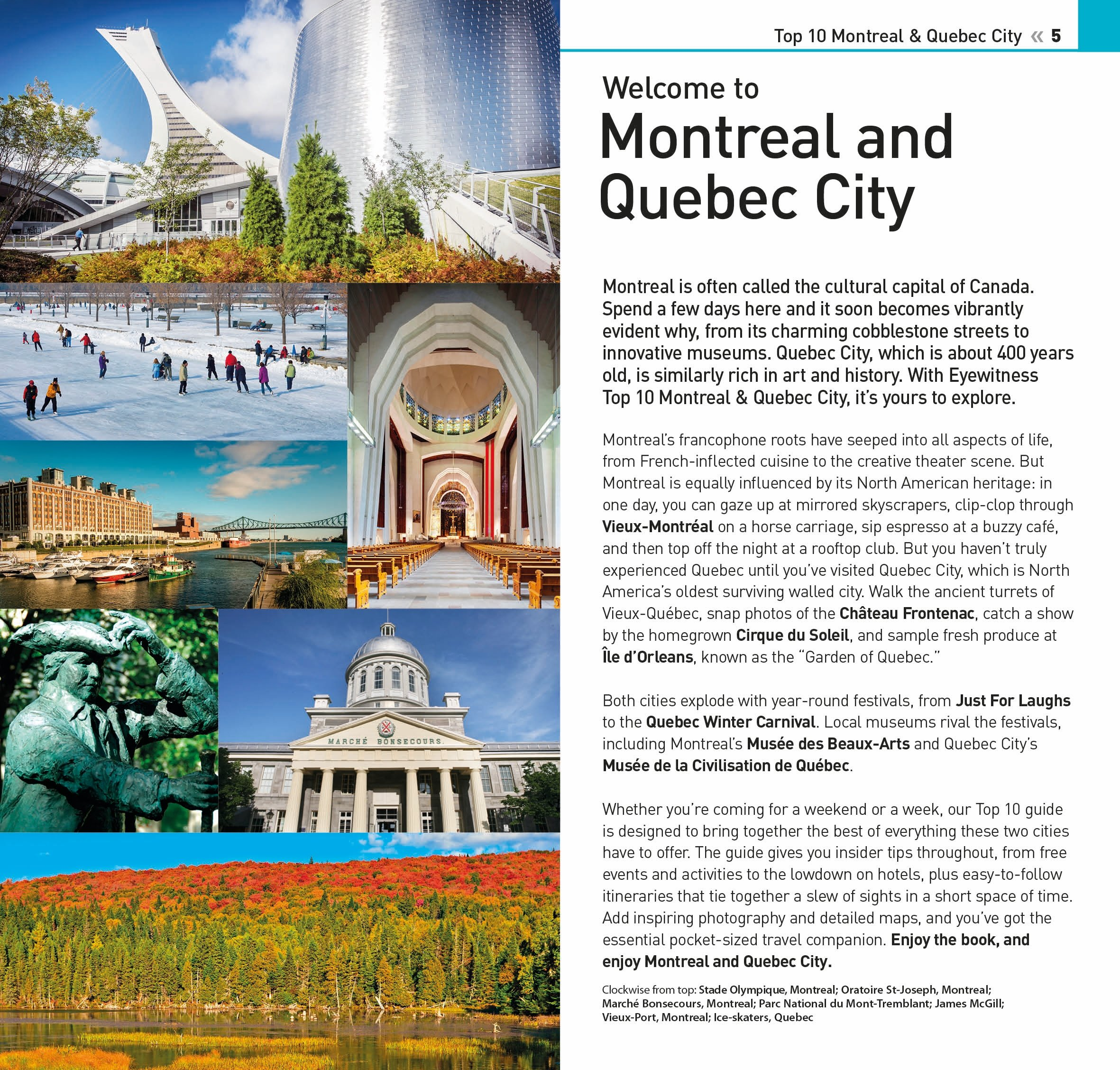 Top Montreal Quebec City Eyewitness Top Travel Guide DK - 10 ideas for winter fun in quebec city