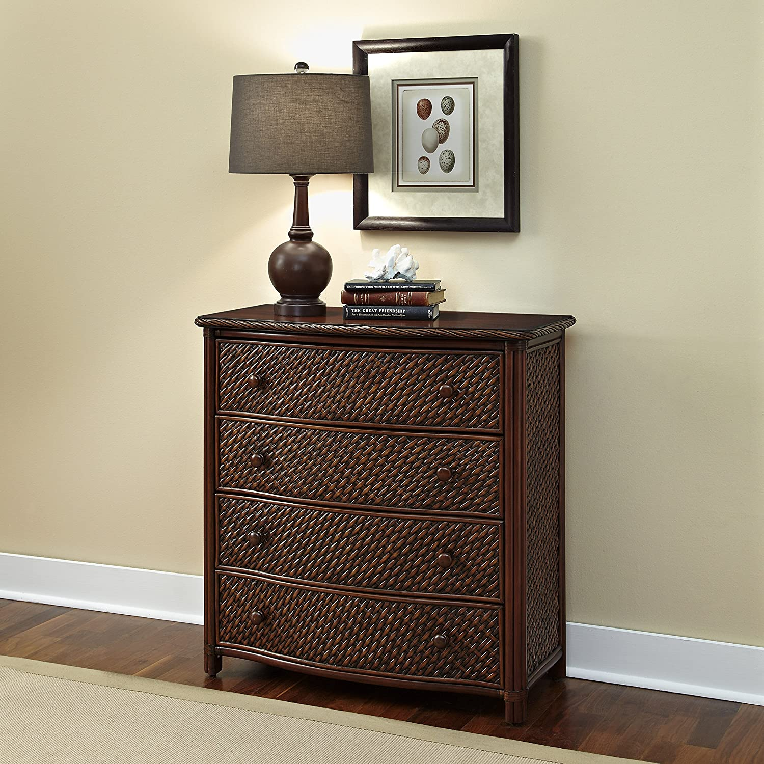 Amazon.com: Home Styles Model 5544 41 Marco Island Drawer Chest, Cinnamon  Finish: Kitchen U0026 Dining
