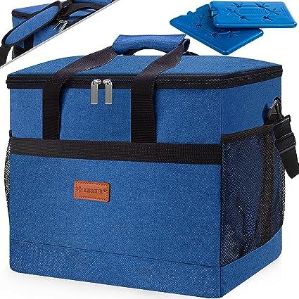 Große Kühltasche Isoliertasche Thermotasche Camping Lunchtasche Picknicktasche