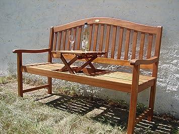 Gartenbank holz mit tisch for Amazon tisch