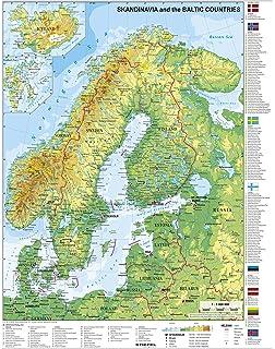 Karte Norwegen Dänemark.Historische Karte Schweden Norwegen Finnland Und Dänemark Um