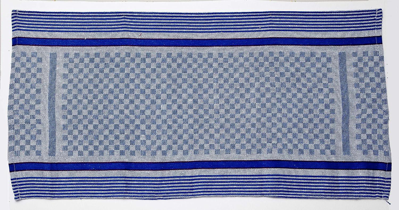 Blau-Weiss, 50 x 100 cm Premium-Qualit/ät Home-Tex/© 10-er Set Geschirrt/ücher Grubent/ücher /ÖKO-TEX STANDARD Profi-K/üchent/ücher blau-wei/ß aus 100/% Baumwolle