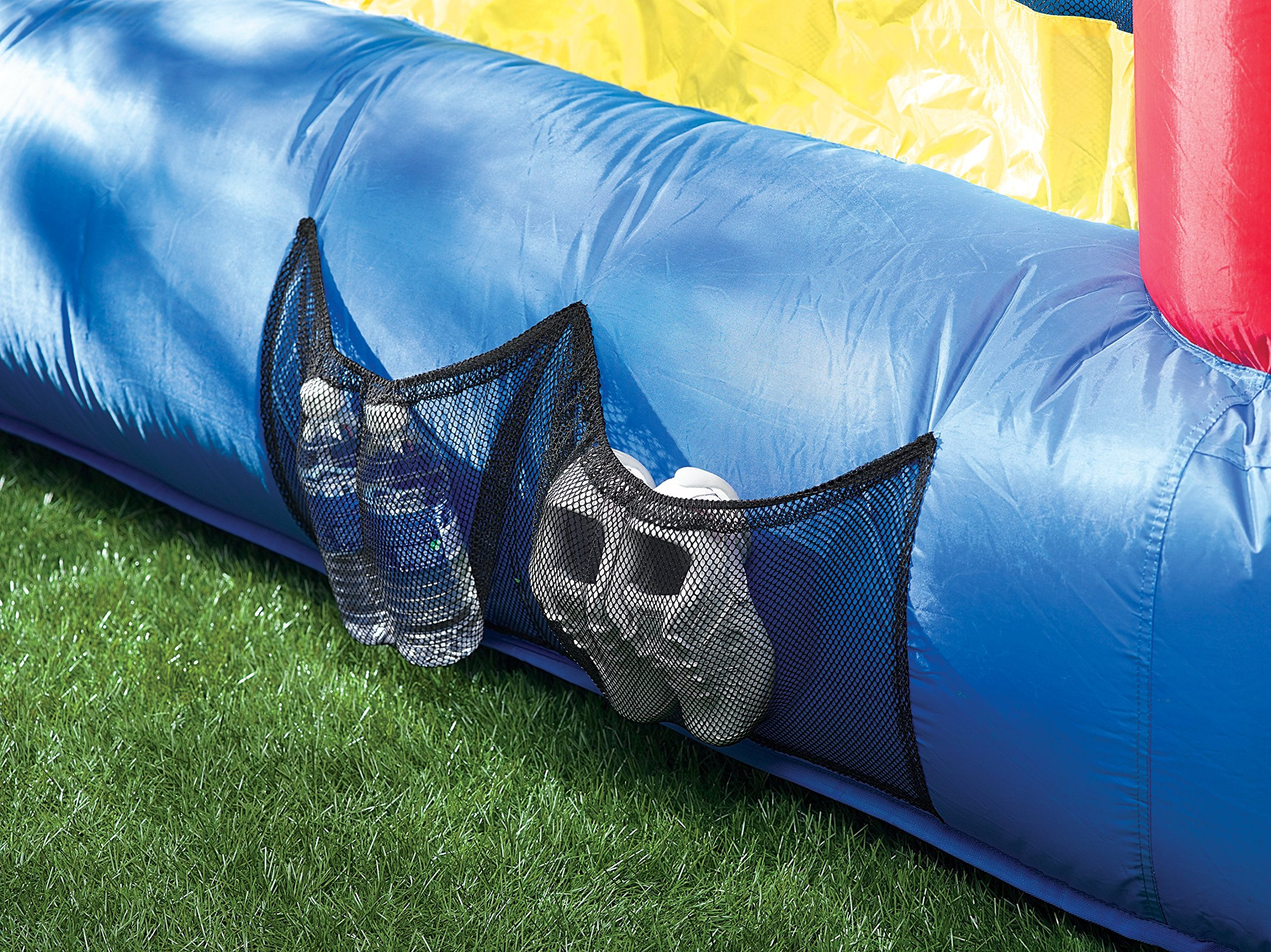 Little Tikes Inflatable Jump 'n Slide Bounce House w/heavy duty blower by Little Tikes (Image #10)