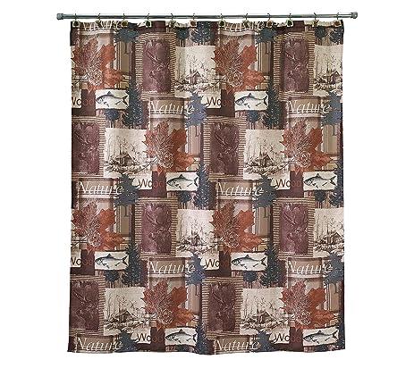 Amazon.com: Avanti Nature Walk Shower Curtain: Home & Kitchen