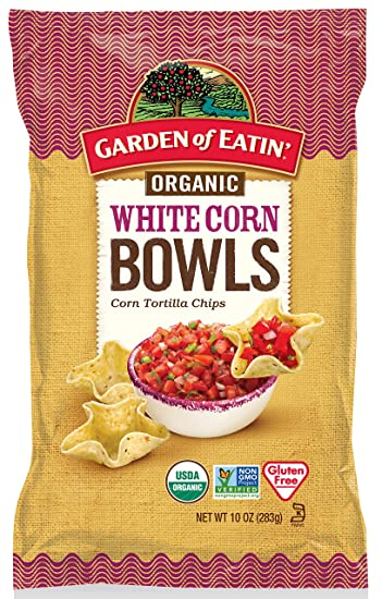 Amazoncom Garden of Eatin Organic Tortilla Bowls White Corn