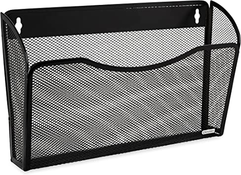Rolodex Wall File Mesh Pocket Wall File Letter 1 Unit Black 21931 Amazon Ca Office Products