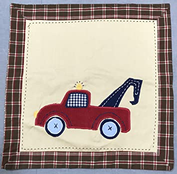 Amazoncom Pottery Barn Kids Tow Truck 16 Decorative Pillow Cover