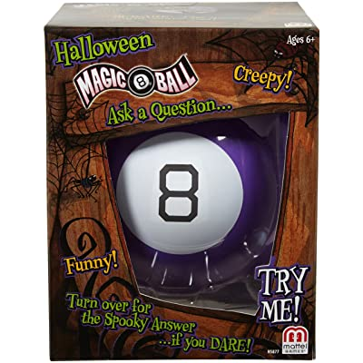 Magic 8 Ball: Halloween: Toys & Games