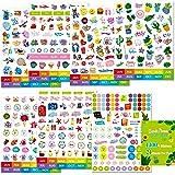 1400+ PCs Planner Calendar Journal Chore Chart Cartoon Stickers Set Elegant Design Accessories in Various Themes…