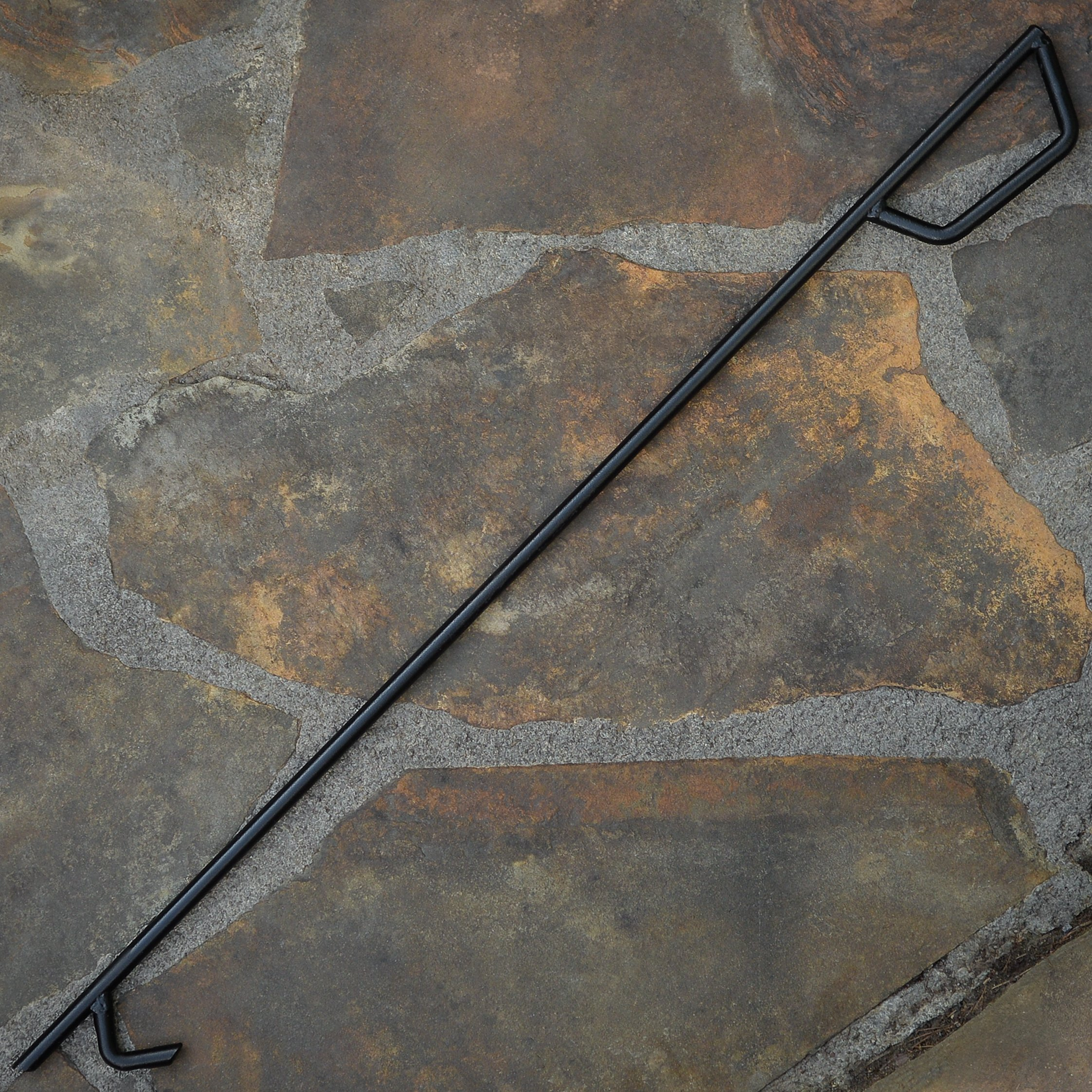 Heritage Products 24 Inch Heavy Duty Fire Poker - Made in the USA by Heritage Products (Image #2)