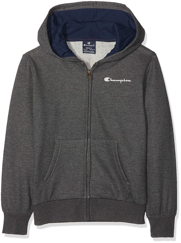 Champion Hooded Full Zip Sweatshirt, Sudadera con Capucha para Niños: Amazon.es: Ropa y accesorios