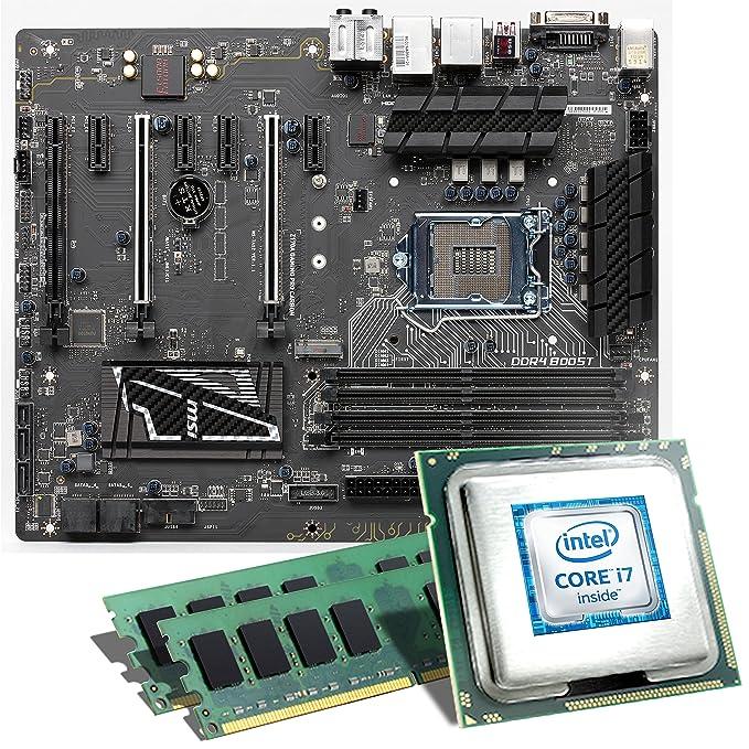 Intel Core i7-6700K / MSI Z170A Gaming Pro Mainboard Bundle / 16 GB | CSL PC upgradekit | Skylake Intel Core i7 6700K, Intel HD Graphics 530, GigLAN, ...
