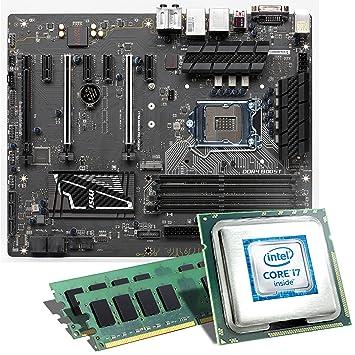 Intel Core i7-6700K / MSI Z170A Gaming Pro Mainboard Bundle ...
