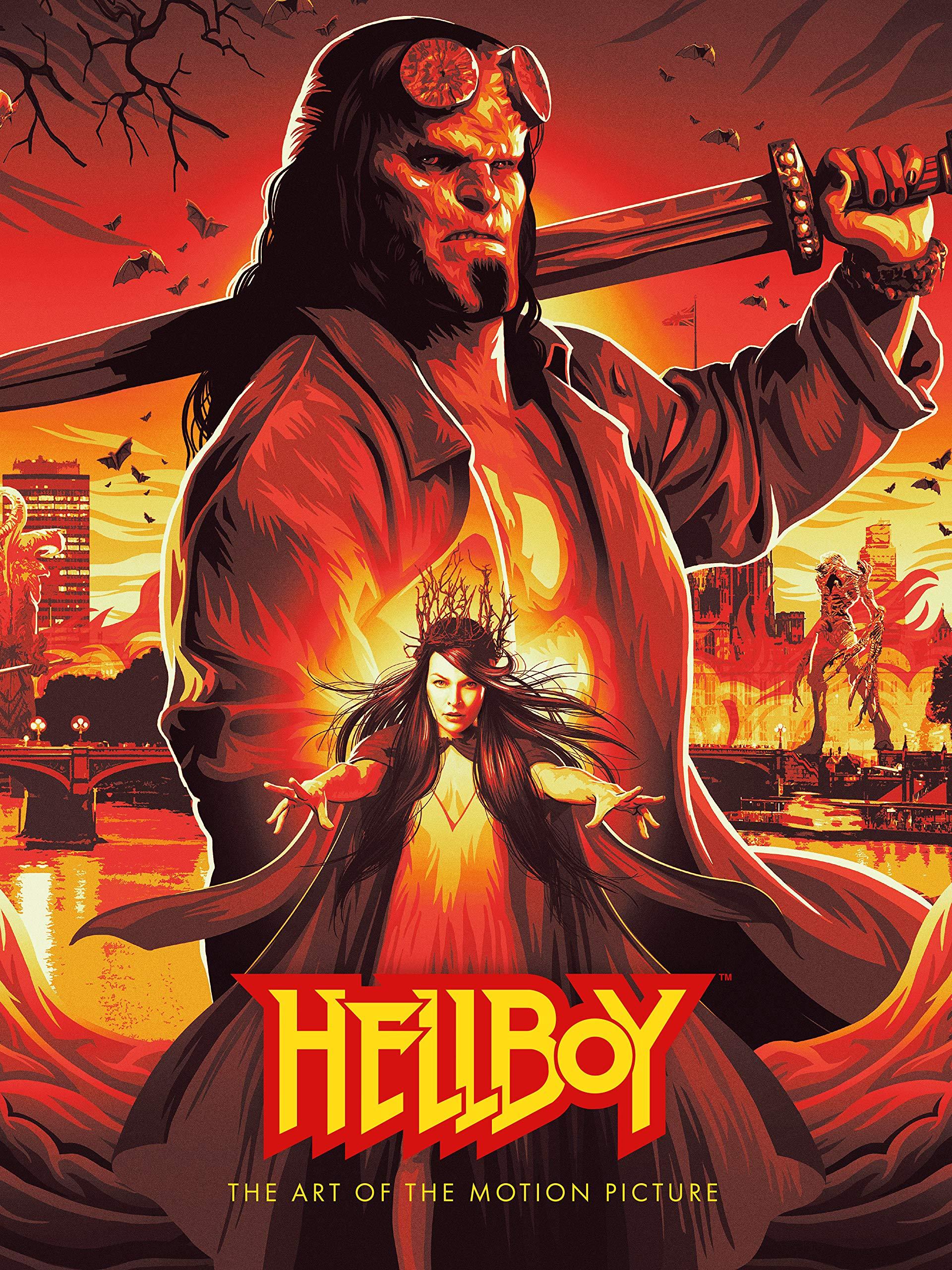 Hellboy The Art Of The Motion Picture 2019 Amazon De Various Fremdsprachige Bucher