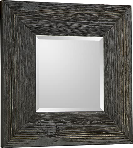 Mirrorize.ca Square Beveled Accent Hanging Wall Decorative Mirror With  Black Frame, 11