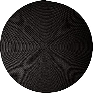 product image for Colonial Mills Boca Raton Area Rug 5x5 Black