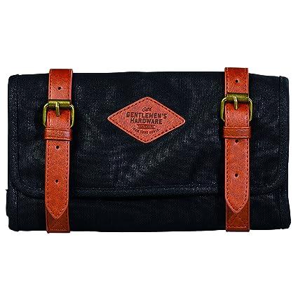 Gentlemen s Hardware Charcoal Tool Roll  Amazon.co.uk  Luggage 937214fd49889