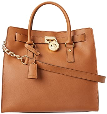 3637317989caa Amazon.com  MICHAEL Michael Kors Women s Hamilton Lareg North South ...